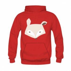 Bluza z kapturem dziecięca Pale fox