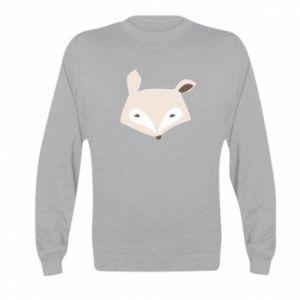 Bluza dziecięca Pale fox