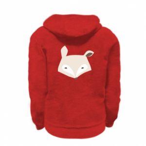 Bluza na zamek dziecięca Pale fox