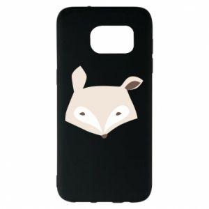 Etui na Samsung S7 EDGE Pale fox