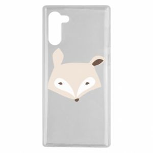 Etui na Samsung Note 10 Pale fox