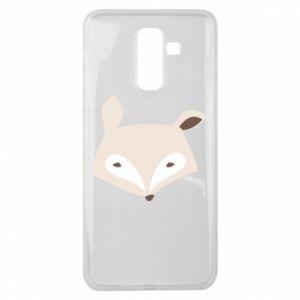 Etui na Samsung J8 2018 Pale fox