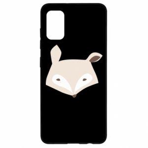 Etui na Samsung A41 Pale fox