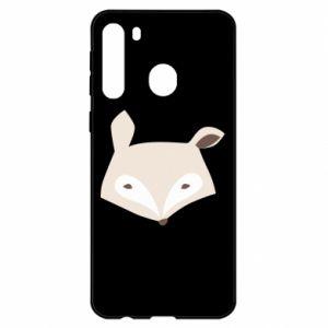 Etui na Samsung A21 Pale fox