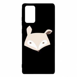 Etui na Samsung Note 20 Pale fox