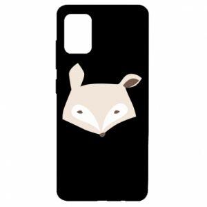 Etui na Samsung A51 Pale fox