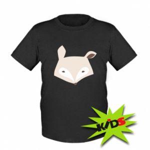 Dziecięcy T-shirt Pale fox