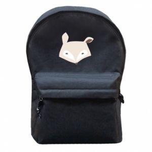 Plecak z przednią kieszenią Pale fox