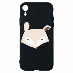 Etui na iPhone XR Pale fox