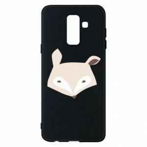 Etui na Samsung A6+ 2018 Pale fox