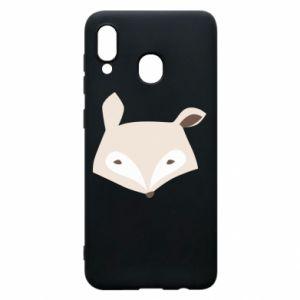 Etui na Samsung A20 Pale fox