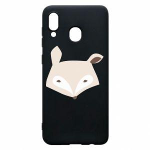 Etui na Samsung A30 Pale fox