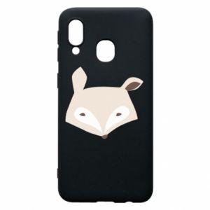 Etui na Samsung A40 Pale fox