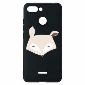 Etui na Xiaomi Redmi 6 Pale fox