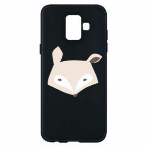 Etui na Samsung A6 2018 Pale fox
