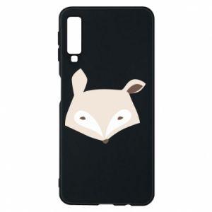 Etui na Samsung A7 2018 Pale fox