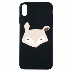 Etui na iPhone Xs Max Pale fox