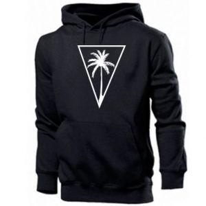 Męska bluza z kapturem Palm in the triangle