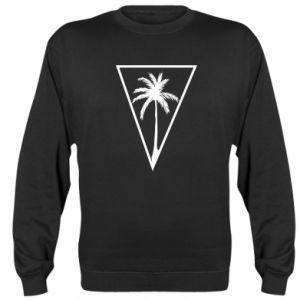 Bluza (raglan) Palm in the triangle