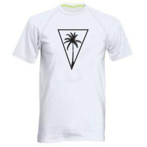 Męska koszulka sportowa Palm in the triangle