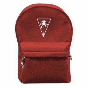 Plecak z przednią kieszenią Palm in the triangle