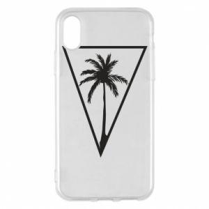 Etui na iPhone X/Xs Palm in the triangle