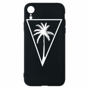 Etui na iPhone XR Palm in the triangle