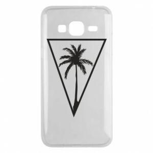 Etui na Samsung J3 2016 Palm in the triangle