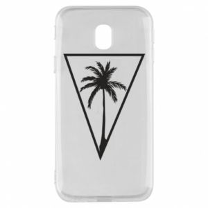 Etui na Samsung J3 2017 Palm in the triangle