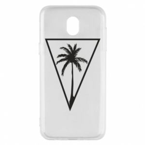 Etui na Samsung J5 2017 Palm in the triangle