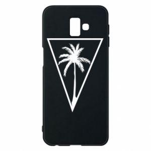 Etui na Samsung J6 Plus 2018 Palm in the triangle