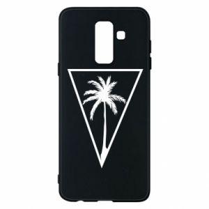 Etui na Samsung A6+ 2018 Palm in the triangle