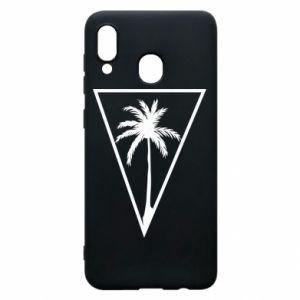 Etui na Samsung A20 Palm in the triangle
