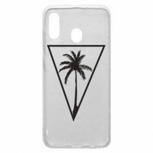 Etui na Samsung A30 Palm in the triangle