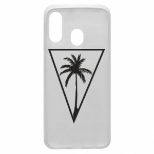 Etui na Samsung A40 Palm in the triangle