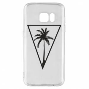 Etui na Samsung S7 Palm in the triangle