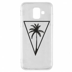 Etui na Samsung A6 2018 Palm in the triangle