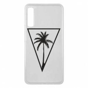 Etui na Samsung A7 2018 Palm in the triangle