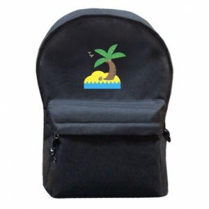 Plecak z przednią kieszenią Palma