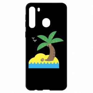 Samsung A21 Case Palm