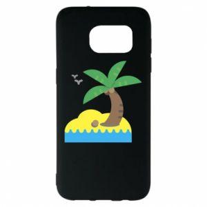Samsung S7 EDGE Case Palm