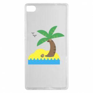 Huawei P8 Case Palm