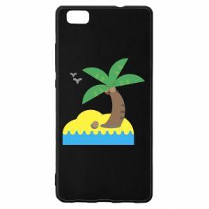 Huawei P8 Lite Case Palm