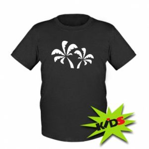 Kids T-shirt Palm trees
