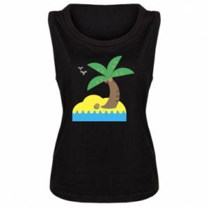 Damska koszulka bez rękawów Palma