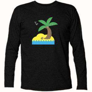 Koszulka z długim rękawem Palma