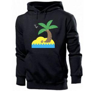 Męska bluza z kapturem Palma