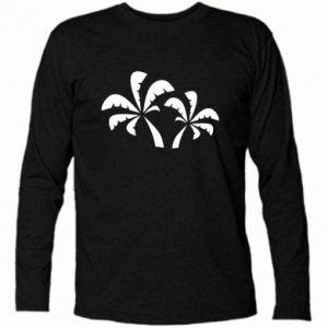 Koszulka z długim rękawem Palmy