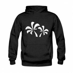 Kid's hoodie Palm trees