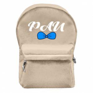 Plecak z przednią kieszenią Pan, dla chłopca
